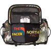 The North Face Base Camp Duffel S Sepia Brown Hiker Print